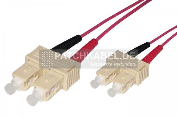 LWL Patchkabel SC-SC 50/125µ OM4