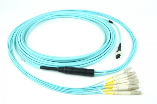 QSFP+/SFP+ MTP® Patchkabel OM3 | MTP® | Glasfaser | patchkabel.de
