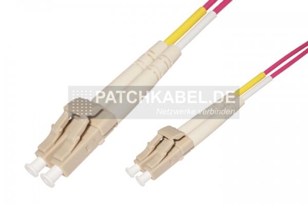 LWL Patchkabel LC-LC 50/125µ OM4